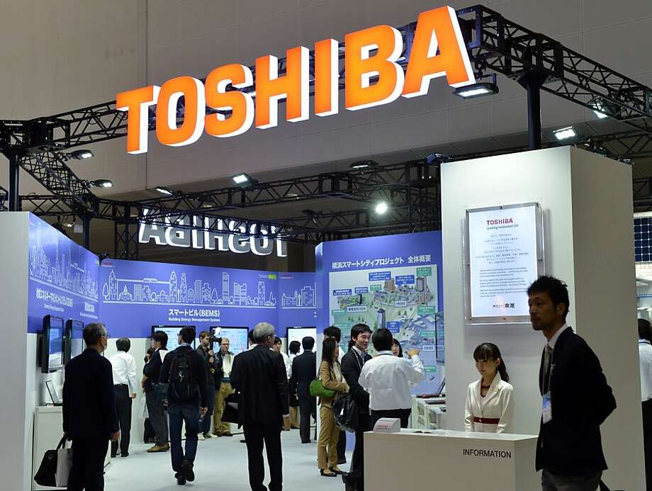Toshiba is among the companies alleged in the lawsuit to have conspired to fix prices and limit supply of flat panels. Photo: Yoshikazu Tsuno, AFP/Getty Images