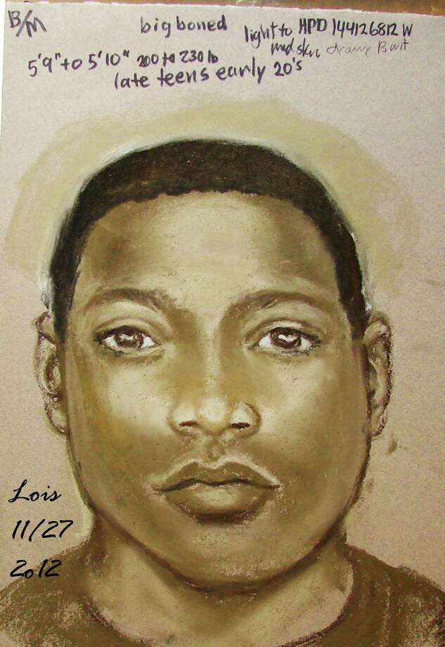 Houston police have released this sketch of a man involved in robberies of AT&T workers. Photo: HPD