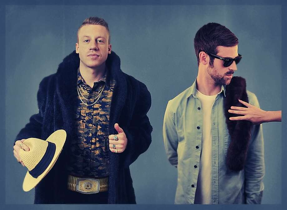 "Macklemore and Ryan Lewis earned Ellen DeGeneres' praise for ""Same Love."" Photo: Macklemore.com"