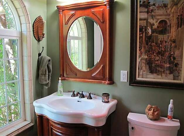 The home's master bathroom was also recently remodeled. Photo: Kelley Eling