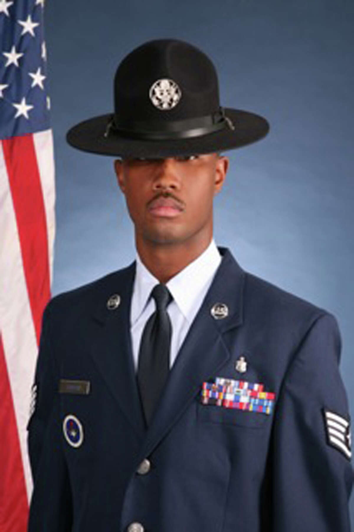Staff Sgt. Christopher T. Jackson is one of 25 basic training instructors under investigation at Lackland.