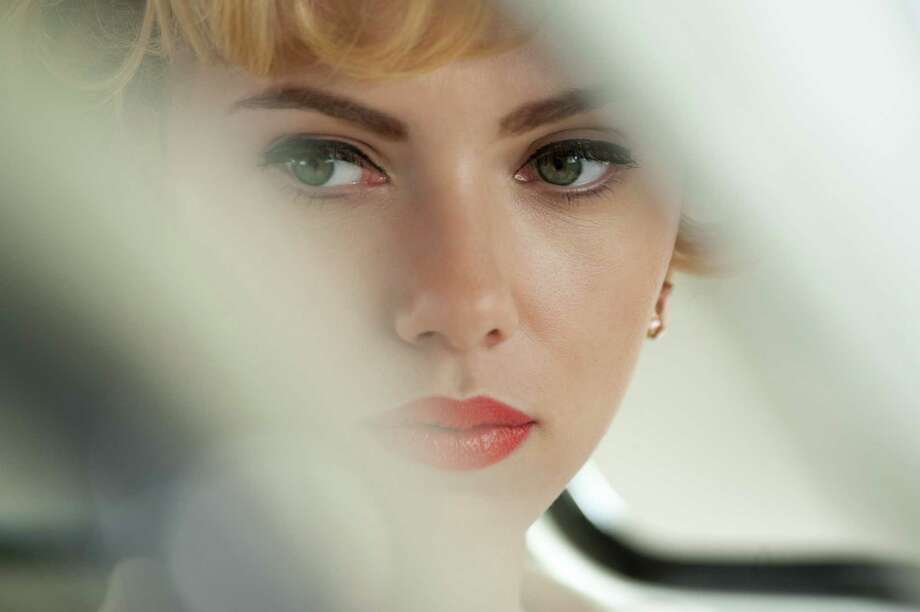 "Scarlett Johansson plays Janet Leigh in ""Hitchcock,"" but the real Leigh was immortalized in a fatal shower scene in ""Psycho."" Photo: Fox Searchlight Pictures"