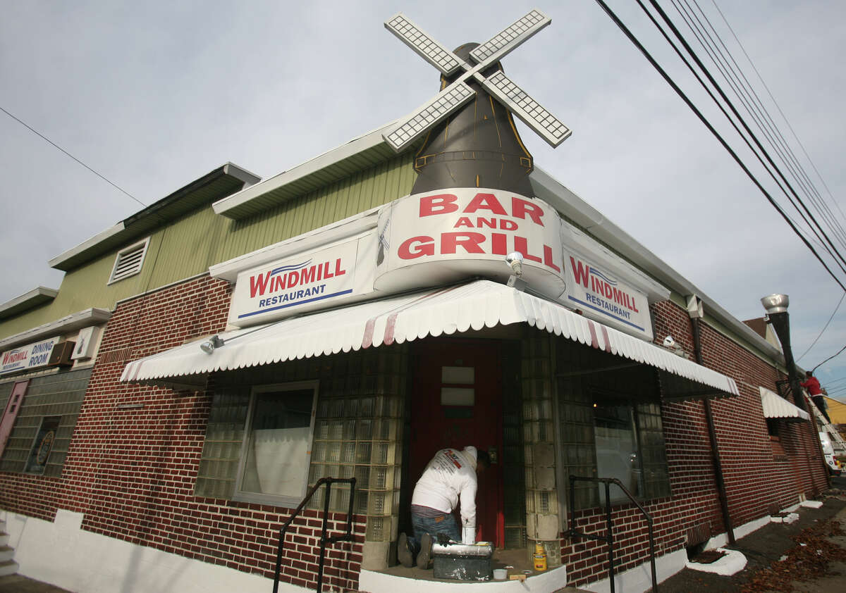 The Windmill Tavern at 400 Hollister ST in Stratford undergoes renovations on Thursday, November 29, 2012.