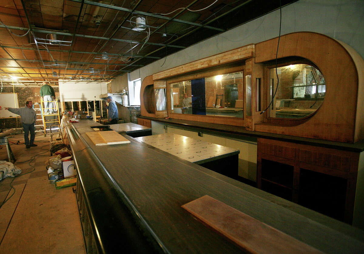 The Windmill Tavern at 400 Hollister St. in Stratford undergoes renovations on Thursday, November 29, 2012.