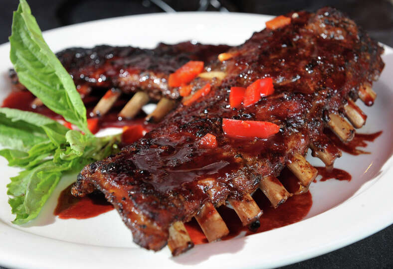 Wild Boar Ribs at the Merry Monk at North Pearl and ...