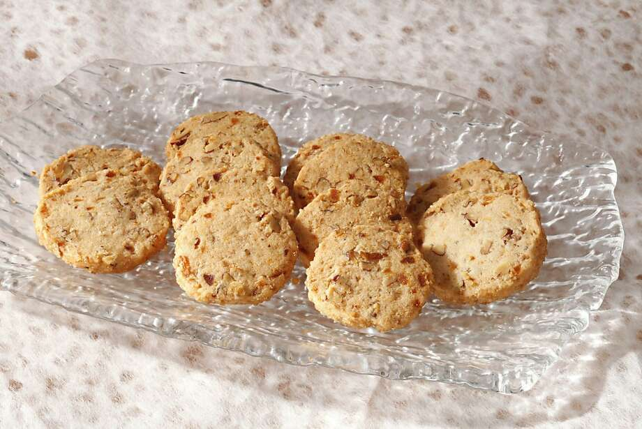 Spiced Pecan Shortbread: The inclusion of rice flour makes these cookies lighter and more crumbly. Click here for the recipe. Photo: Craig Lee, Special To The Chronicle