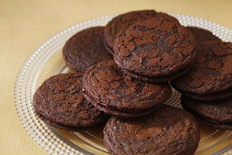 Chocolate Gingersnap Cookies With Chocolate Ganache: This is a traditional holiday ginger cookie with some cocoa added to satisfy chocolate lovers, and a chocolate ganache filling to turn things up a notch. Click here for the recipe. Photo: Craig Lee, Special To The Chronicle