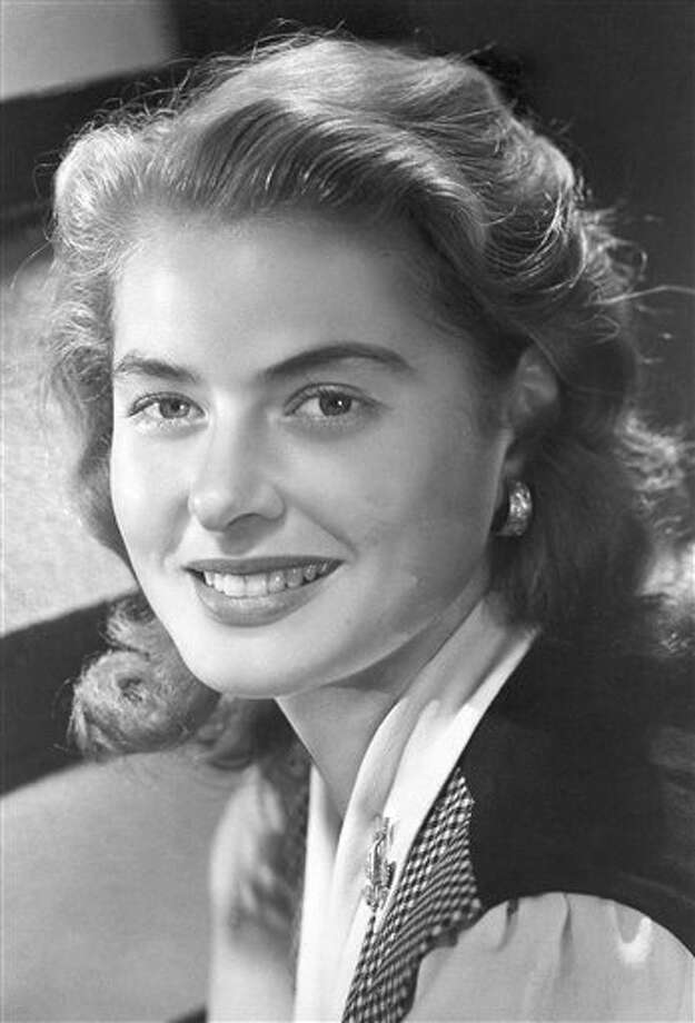 Ingrid Bergman played Alicia Huberman in the 1946 film 'Notorious.' Photo: AP Photo / AP1955