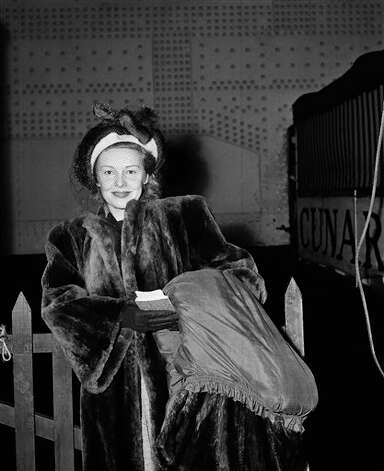 "Madeleine Carroll played Pamela in ""The 39 Steps."" Photo: John Lent, AP Photo / AP1947"