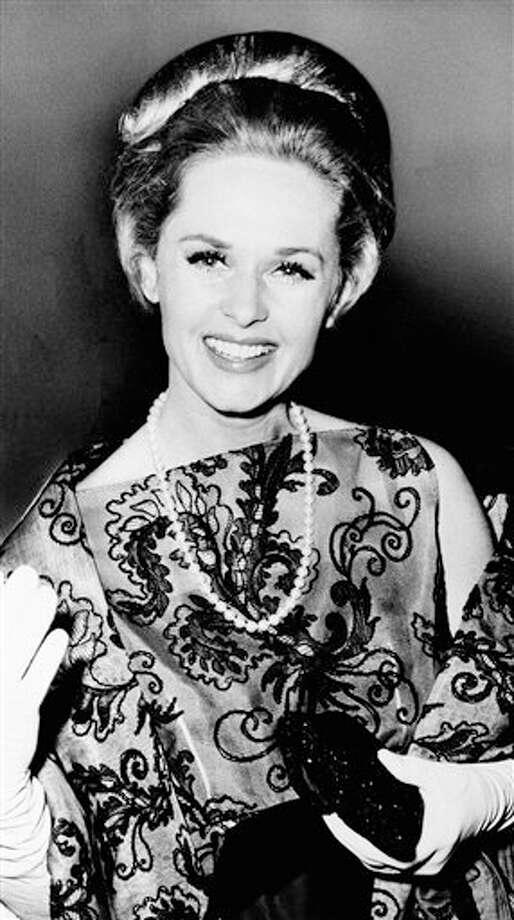 Tippi Hedrenplayed Melanie Daniels in 1963's 'The Birds.' Photo: AP Photo / AP1964