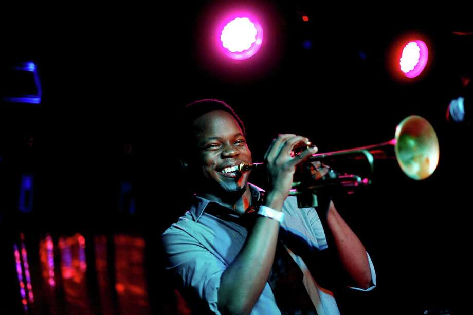 Ambrose Akinmusire, a trumpeter, will participate in a discussion and perform Saturday. Photo: JOE KOHEN, STR / NYTNS