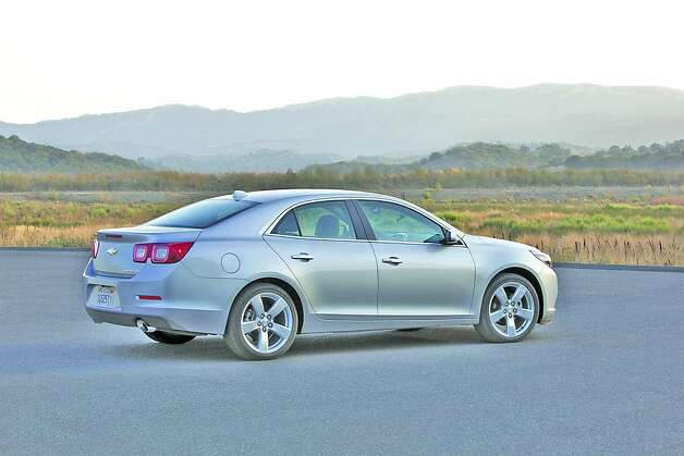 'We drove the 2.0-liter turbocharged Malibu LT, with a potent powertrain that has 259 horses and 260 lb ft of torque. Its top speed is 155 mph and it has a 0-to-60 mph time of 6.3 seconds and, due to weight-saving and other fuel-economy-saving techniques, it delivers 21 miles per gallon city and 30 mpg highway.' Photo: Tom Drew, GM