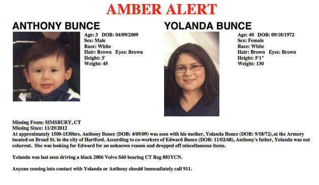 Amber Alert issued Thursday, Nov. 29, 2012. Photo: Contributed Photo
