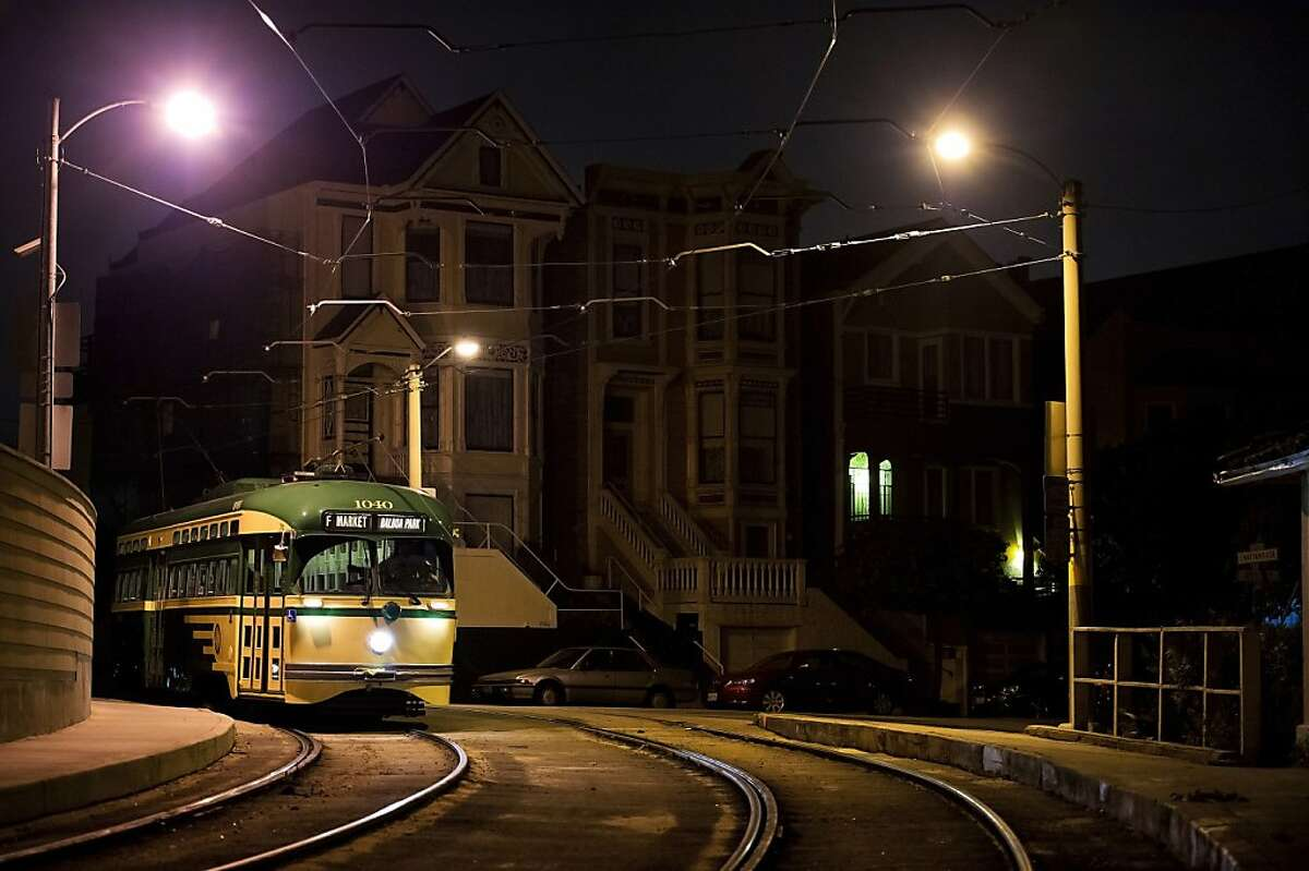 Photos by Kevin Sheridan to celebrate the 100th anniversary of the Municipal Railway.