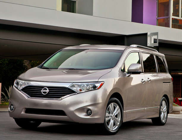 The 2013 Nissan Quest is a roomy and comfortable minivan with plenty of power and an interior perfectly suited for everyday use or family vacations. Photo: Nissan, Nissan North America Inc. / © 2012 Nissan