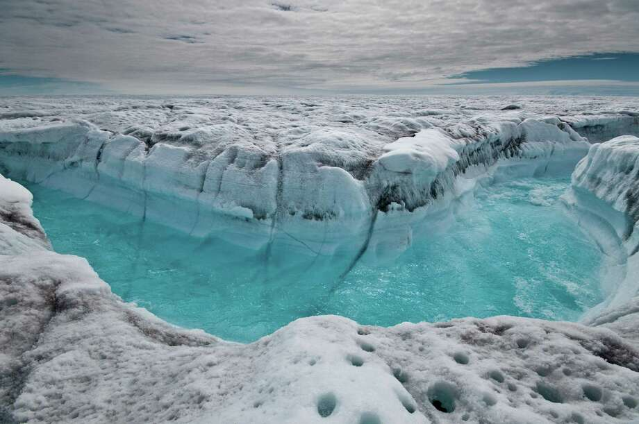 New research points out that Greenland's ice sheet melt rate is now almost 290 billion tons a year compared with 55 billion tons a year in the 1990s. Photo: Ian Joughin, HO / Ian Joughin