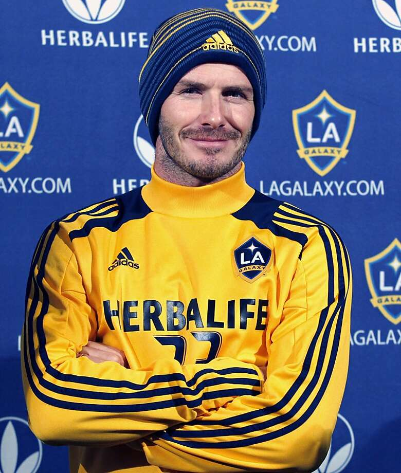 David Beckham, who joined the Los Angeles Galaxy in 2007, plays his final game for the team Saturday. Photo: Alex Gallardo, Associated Press