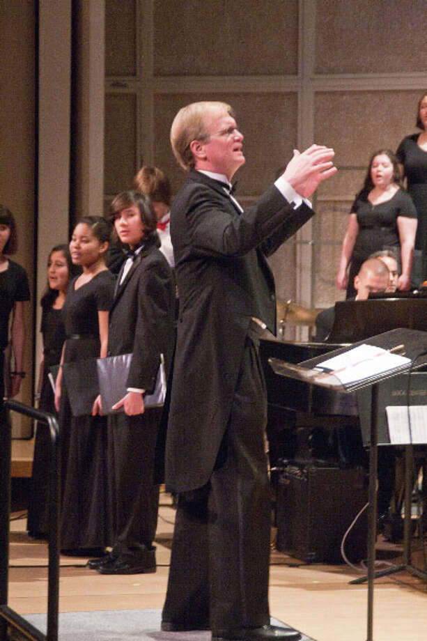 Jon Noyes is music director and founder of the Fairfield County Children's Choir, which performs Saturday, Dec. 6, at the Klein with the Greater Bridgeport Symphony, Photo: Contributed Photo
