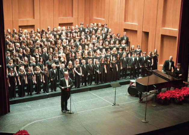 Members of the Fairfield County Children's Choir perform Saturday, Dec. 8, at the Klein Memorial Auditorium. Above is a past concert at the Klein. Photo: Contributed Photo