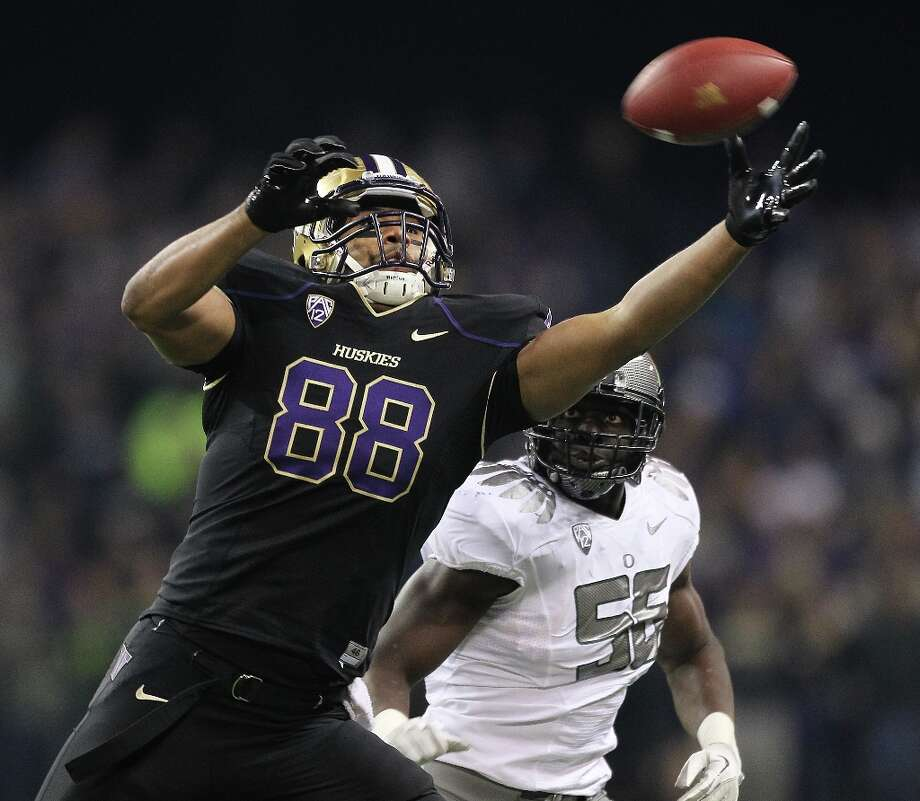 Austin Seferian-Jenkins, pictured in 2012 Photo: Otto Greule Jr, Getty Images / 2011 Getty Images