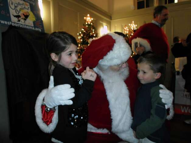 Were you seen at Westport's Tree Lighting Celebration downtown Thursday evening?  11/29/2012 Photo: Photo: Todd Tracy/ Hearst Connecticut Media Group / COPYRIGHT, 2011