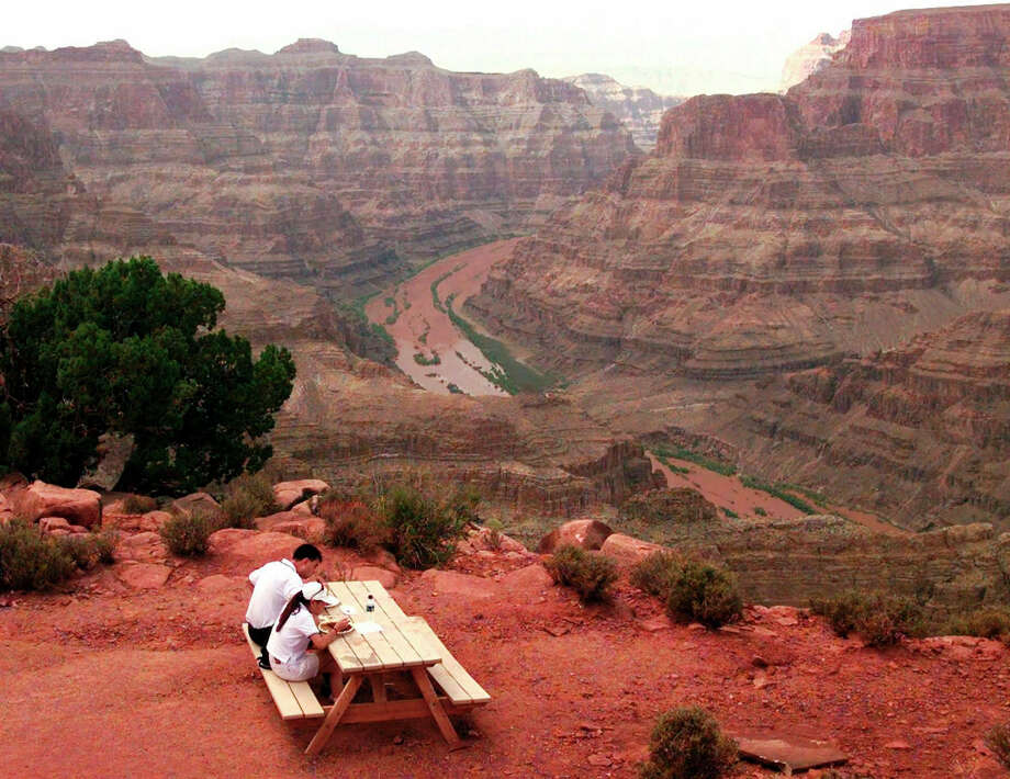 A new study published in the journal Science last week suggests the western Grand Canyon was  formed 70 million years ago.  Some scientists disagree and believe the canyon was created much later. Photo: Jeff Robbins, STF / AP