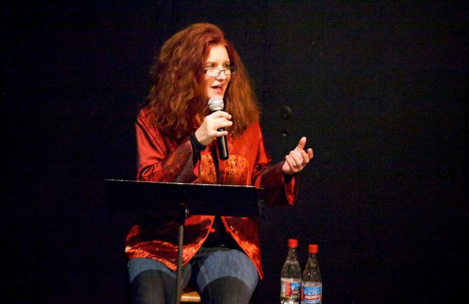 Alumna and performance artist Karen Finley returned for the San Francisco Art Institute's Winter Art Festival. Photo: Sfai, SFAI