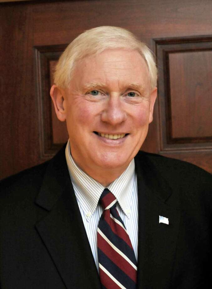 Dr James Schmotter, president of Western Connecticut State University. Photo: Michael Duffy, ST / The News-Times