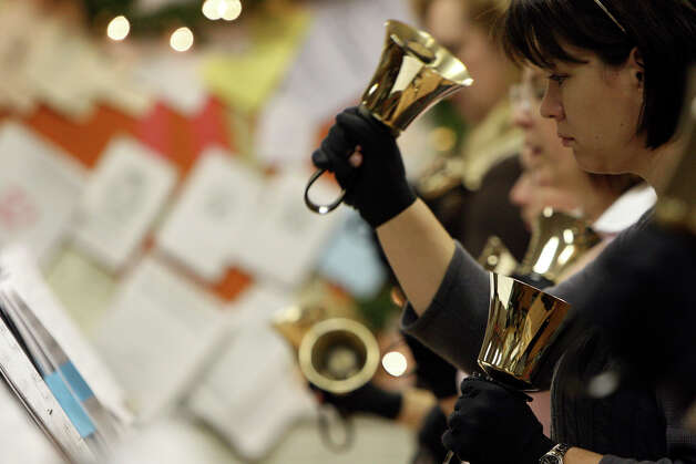 The River City Ringers in 2008. Photo: HELEN L. MONTOYA, SAN ANTONIO EXPRESS-NEWS / hmontoya@express-news.net