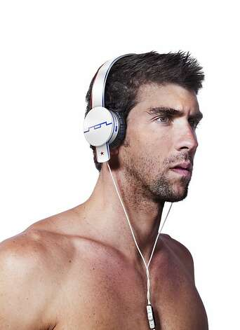 Sol Republic Anthem headphones sported by Olympic swimmer Michael Phelps. Photo: Sol Republic