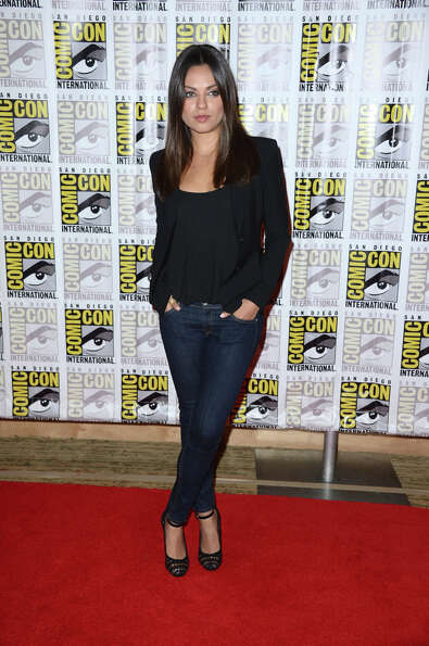 Actress Mila Kunis during Comic-Con International 2012 held on July 13, 2012 in San Diego.  Continue