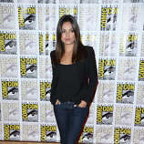 Actress Mila Kunis during Comic-Con International 2012 held on July 13, 2012 in San Diego.  Continues to rise. (Photo by Frazer Harrison/Getty Images)