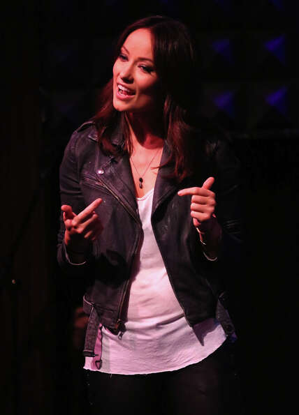 Olivia Wilde performs at Glamour Presents These Girls at Joe's Pub on October 8, 2012 in New York Ci