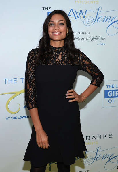 Rosario Dawson on October 18, 2012 in New York City. A New York sensibility.