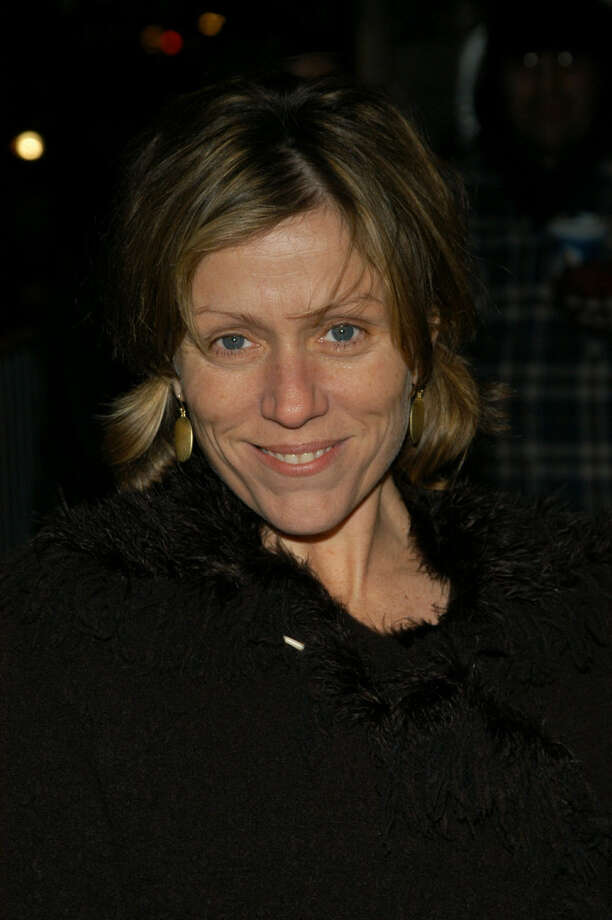 Frances McDormand -- an engaging original. Photo: Lawrence Lucier, Getty Images / 2003 Getty Images