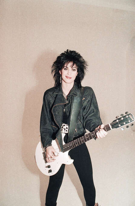 Singer Joan Jett is shown in this Dec. 1986 photo. Cool since the Seventies.  You know hard that it is to maintain? (AP Photo) Photo: AP / 1986 AP