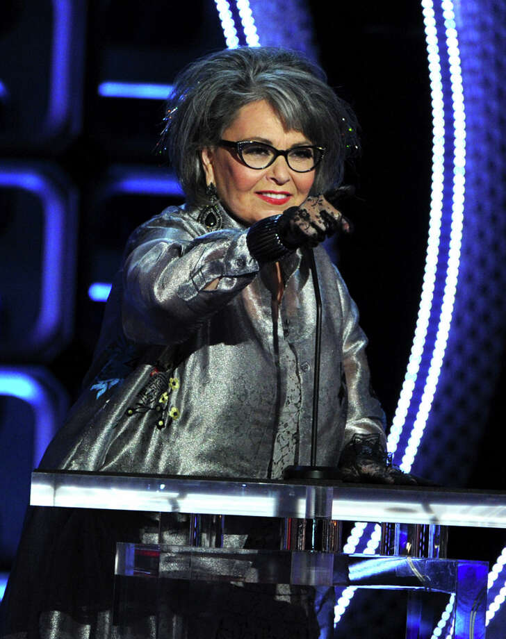 Roseanne Barr speaks onstage during the Comedy Central Roast of Roseanne Barr at Hollywood Palladium on August 4, 2012 in Hollywood, California. She can dish it out and take it, too. (Photo by Kevin Winter/Getty Images) Photo: Kevin Winter, Getty Images / 2012 Getty Images