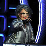 Roseanne Barr speaks onstage during the Comedy Central Roast of Roseanne Barr at Hollywood Palladium on August 4, 2012 in Hollywood, California. She can dish it out and take it, too. (Photo by Kevin Winter/Getty Images)