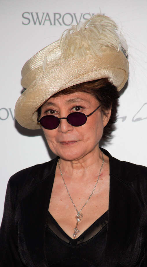 Yoko Ono on September 5, 2012 in New York, United States. Like Hillary Clinton, once the unloved wife of the loved celebrity, now respected in her own right. (Photo by Cory Schwartz/Getty Images) Photo: Cory Schwartz, Getty Images / 2012 Getty Images