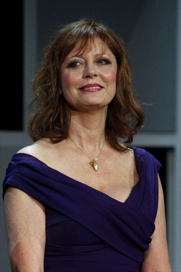 Actress Susan Sarandon presents her film Arbitrage on September 21, 2012 in San Sebastian, Spain. Cool for 35 years. (Photo by Carlos Alvarez/Getty Images) Photo: Carlos Alvarez, Getty Images / 2012 Getty Images