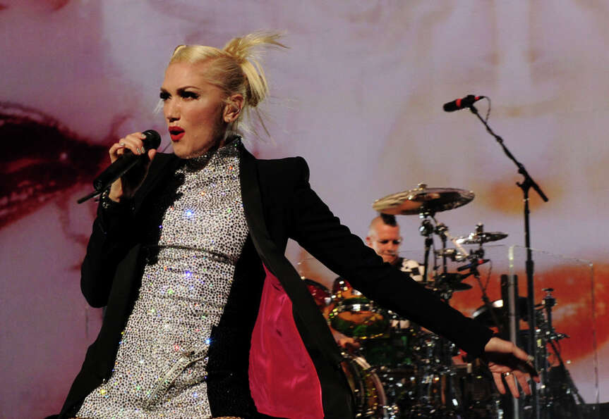 Gwen Stefani at Gibson Amphitheatre on November 24, 2012 in Universal City, California.   (2012 Gett