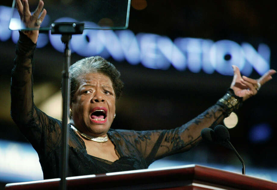 Poet and activist  Maya Angelou, for her conviction and for that voice. Photo: STEPHAN SAVOIA, ASSOCIATED PRESS / AP2004