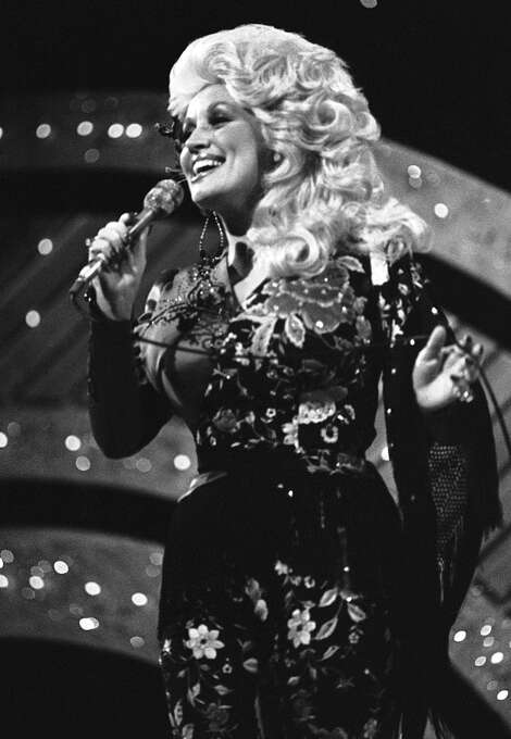 Dolly Parton at the CMA Awards in Nashville, Tenn.  in 1977. (AP Photo) Photo: Anonymous, ASSOCIATED PRESS / AP1977