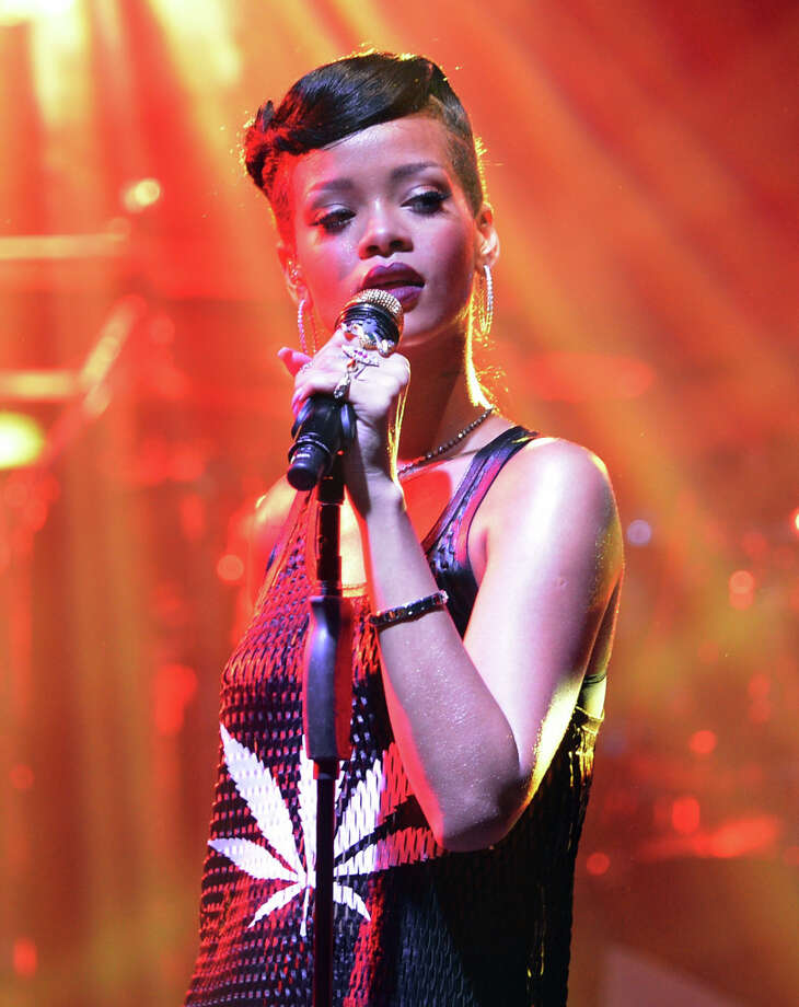 Rihanna performs on November 18, 2012 at E-Werk in Berlin.  Popular as ever. Photo: DPA, AFP/Getty Images / 2012 AFP