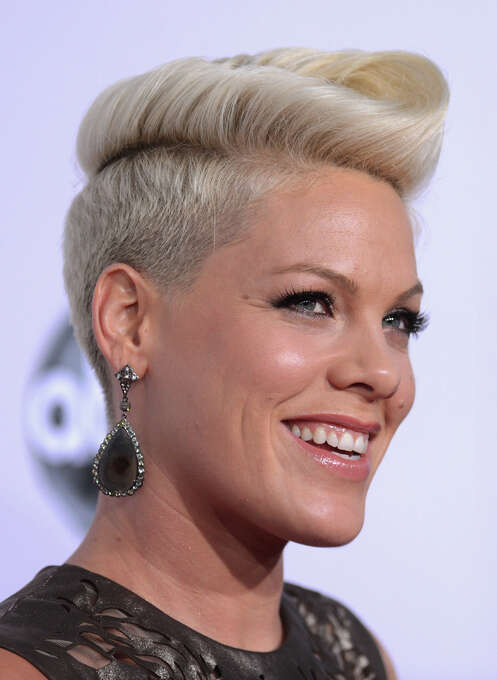 Singer Pink on November 18, 2012 in Los Angeles, California. Another good year for Pink. (Photo by Jason Merritt/Getty Images) Photo: Jason Merritt, Getty Images / 2012 Getty Images