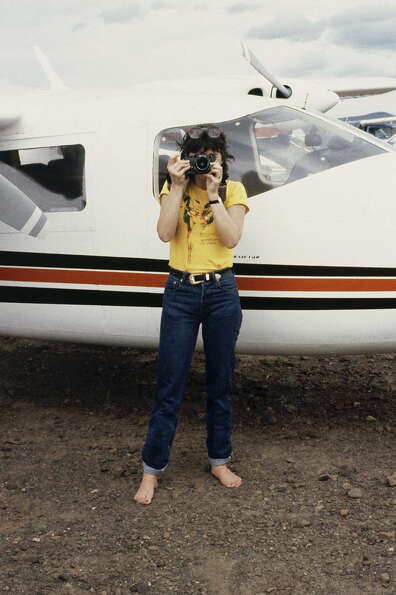Who is that?  It's Linda Ronstadt -- in 1979.