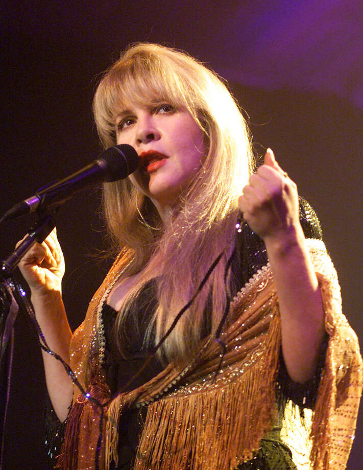 Stevie Nicks in Los Angeles, California, March 31, 2001. One of the great women songwriters.  Time to admit it. Photo: Frank Micelotta, Getty Images / Getty Images North America