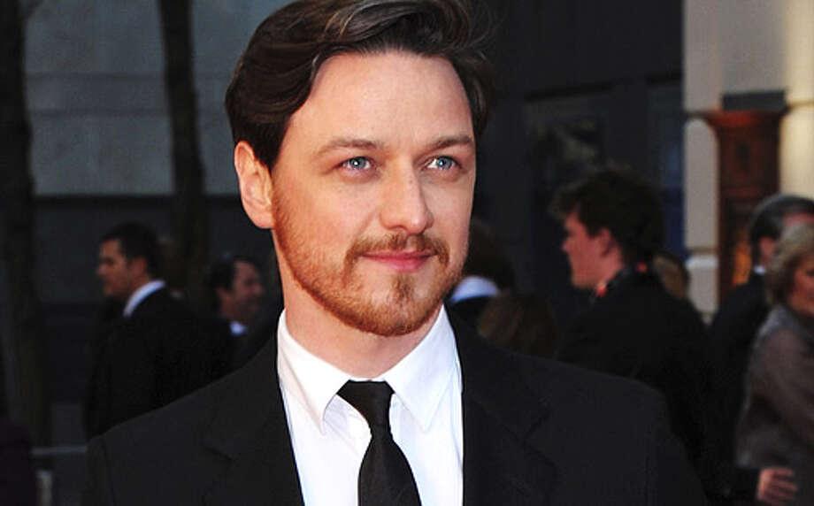 James McAvoy, actor. (Ben Pruchnie) Photo: Ben Pruchnie, Getty Images / 2012 Getty Images