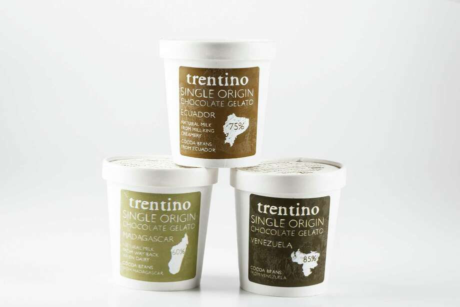 Marcelo Kreindel,  owner of Trentino Gelato, keeps churning out the most inventive chills  in town. His newest line is perhaps his most thoughtful and indulgent:  Trentino Single Origin Bean Gelato - chocolate ice cream made with cacao  beans sourced from specific regions. Chocolate from Venezuela, Brazil,  Ecuador, Bolivia, Dominican Republic, Madagascar and Mexico, all in  various concentrations of chocolate and terroir flavor, are included in  the collection sold at Spec's (and soon to come to Whole Foods Market  stores); $7.50 each, www.trentinogelato.com. Photo: Michael Paulsen, Staff / © 2012 Houston Chronicle