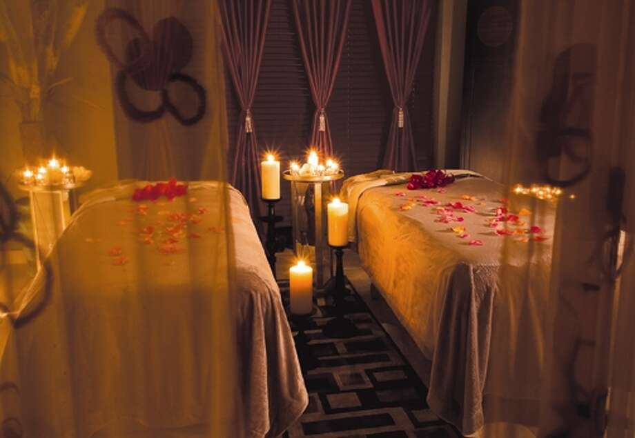 Need more than a festive cocktail to unwind? ZaSpa at Hotel ZaZa is  offering the Red Velvet Scrub and Soak, $65 for 45 minutes, the Hot  Whiskey Scour Pedicure, $65 for 50 minutes, or the Winter Warm-Up  Massage, $120 for 50 Minutes; 5701 Main, 713-526-1991, www.hotelzaza.com. Photo: ZaSpa